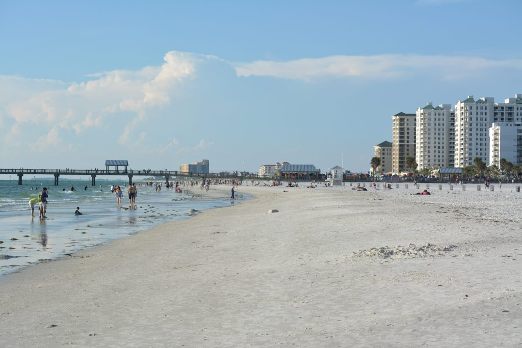 Clearwater beach is perfect beach for families for Craft fairs in clearwater fl