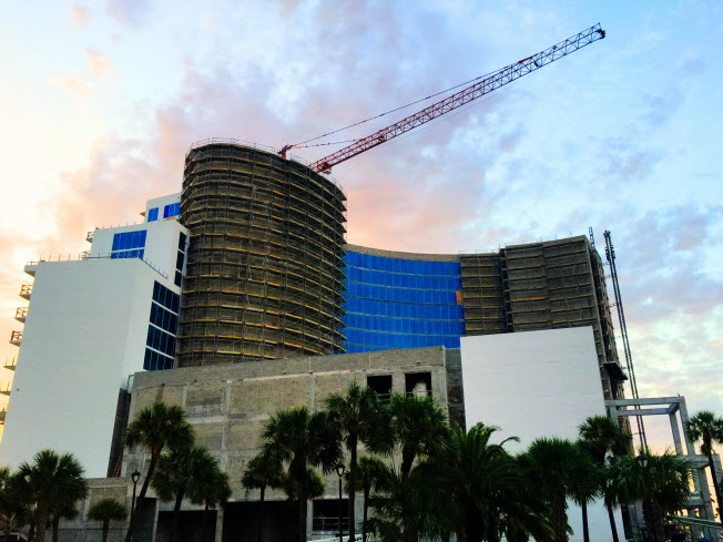 Clearwater Beach Experiencing Building Boom