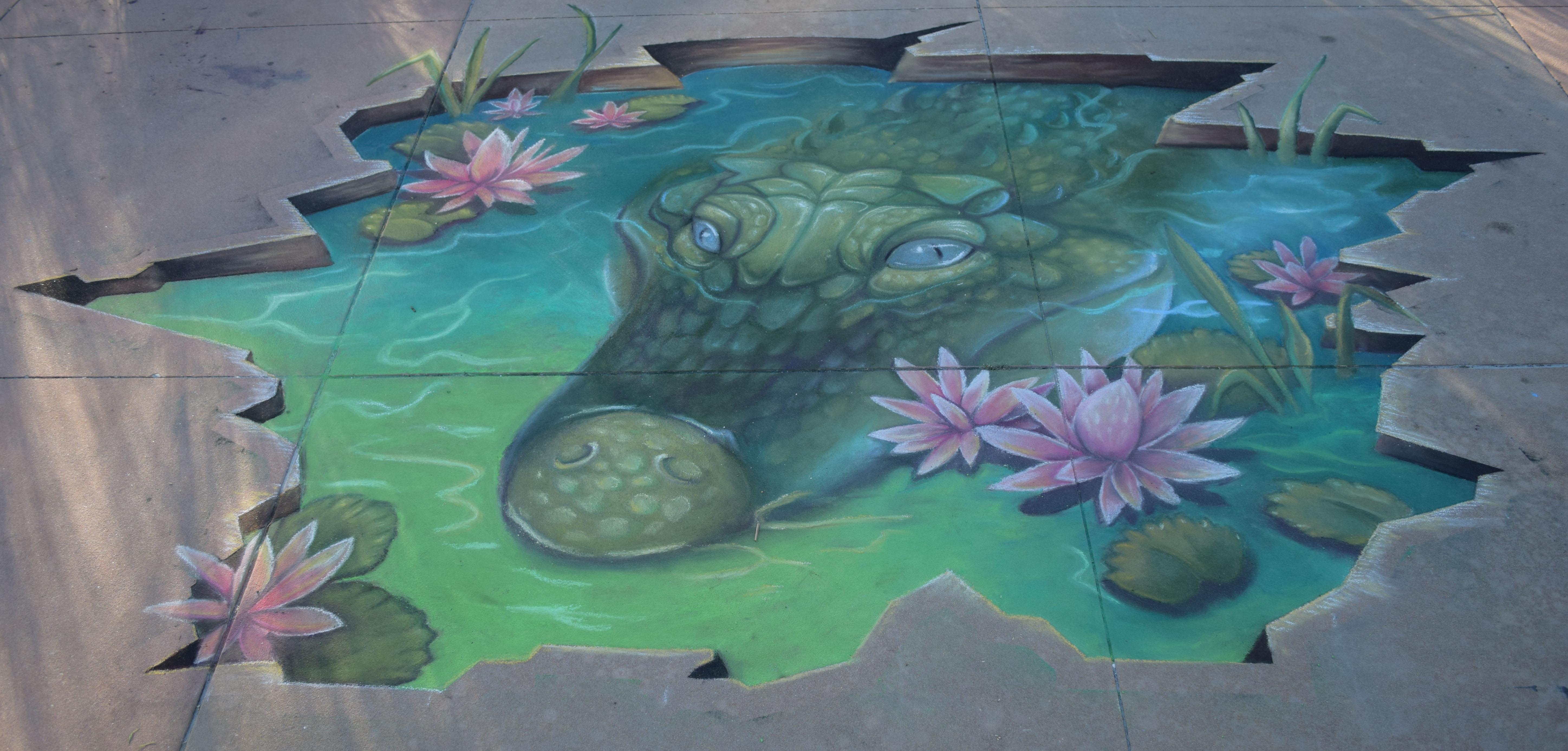 Fourth Annual Chalk Sidewalk Art Festival