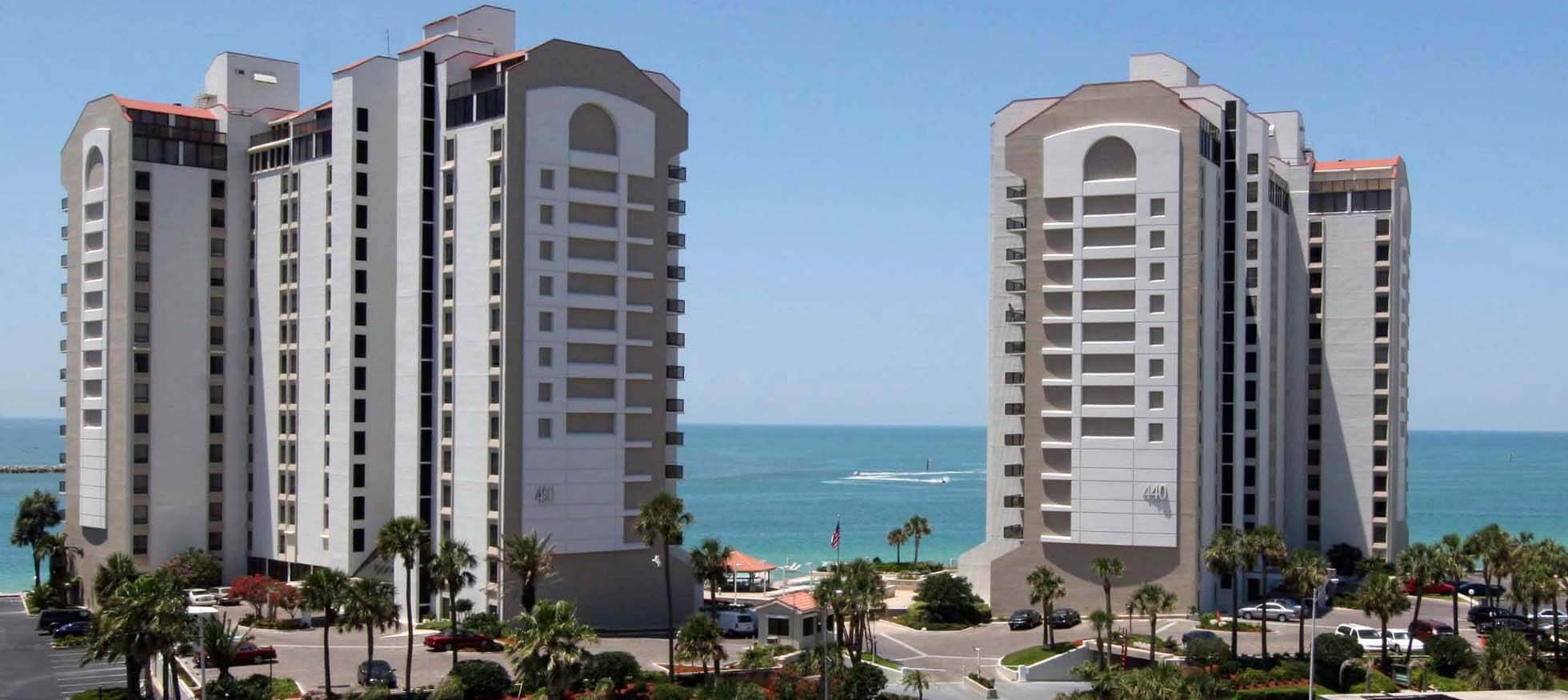 Clearwater Beach Condo For Sale Direct Gulf Front View 440